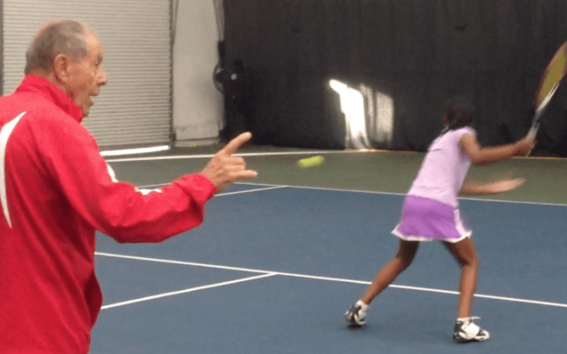 Schooled by a 12 Year Old at IMG Bollettieri Tennis Academy