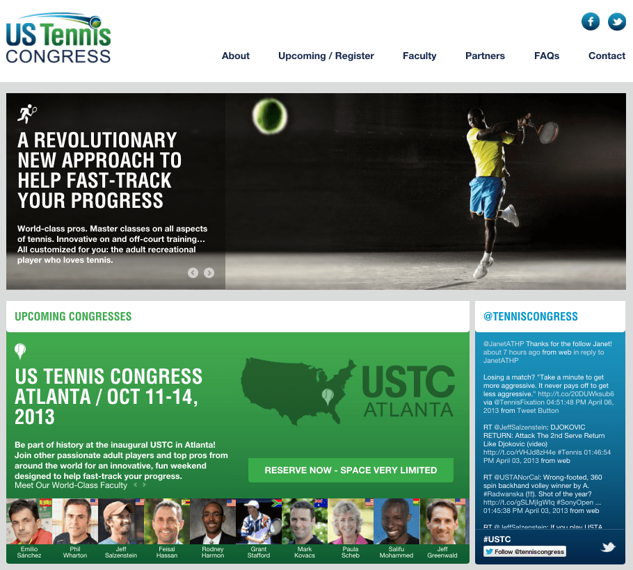 Announcing the U.S. Tennis Congress