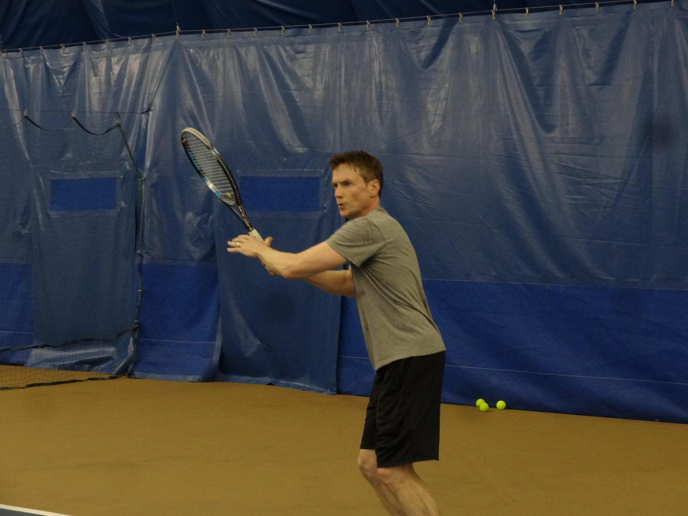 How to Practice Zen Tennis images
