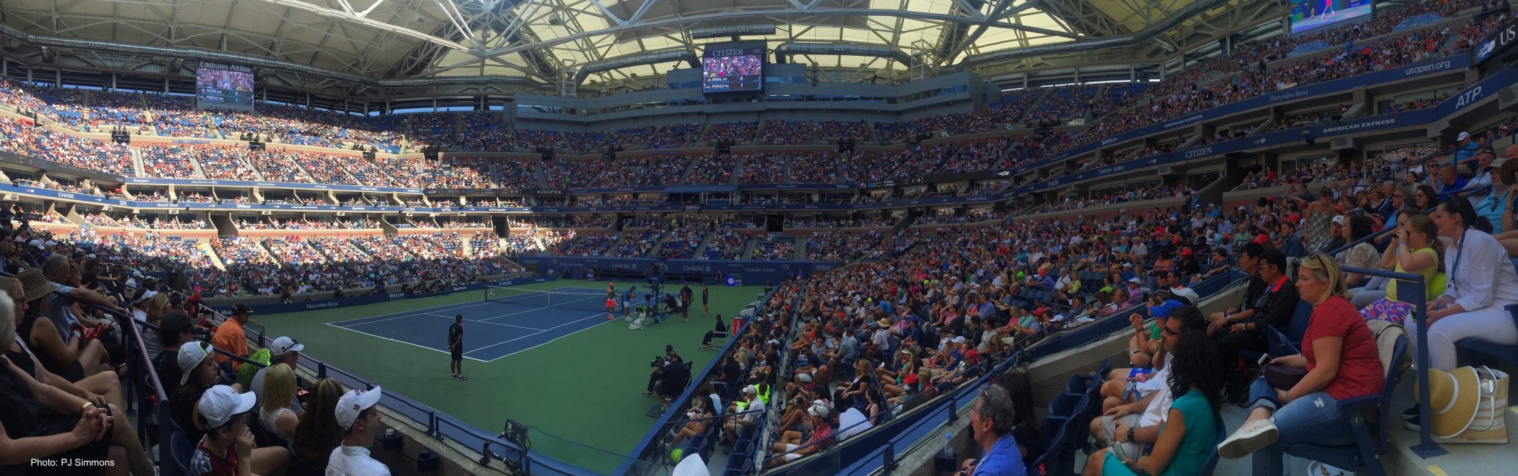 i took the po above at the 2016 us open from a corner courtside seat in ashe watching the nadal pouille round of 16 match on labor day
