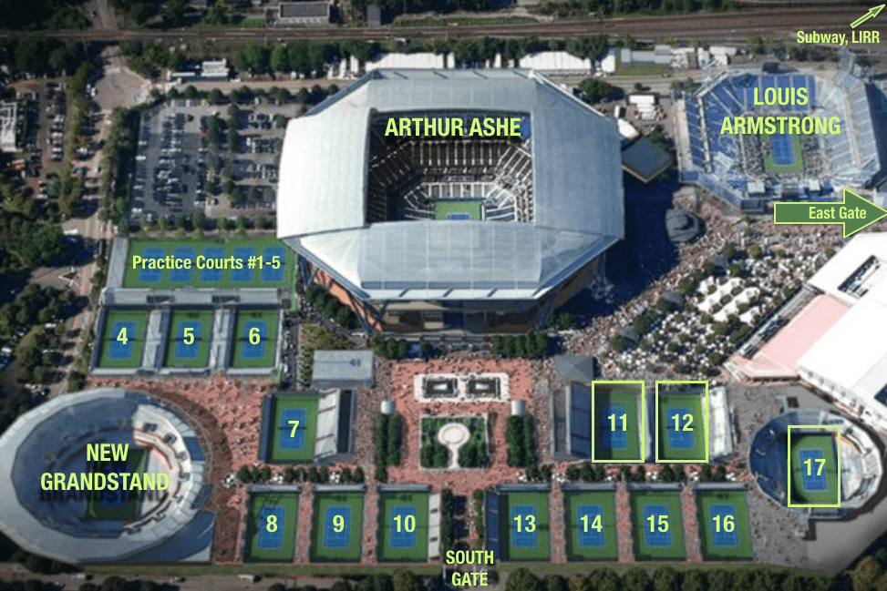 2016 US Open Tennis Grounds